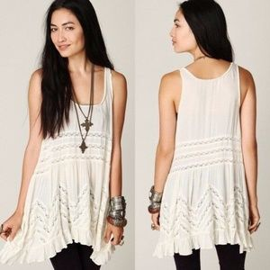 NEW Intimately Free People Sleeveless Printed Trap